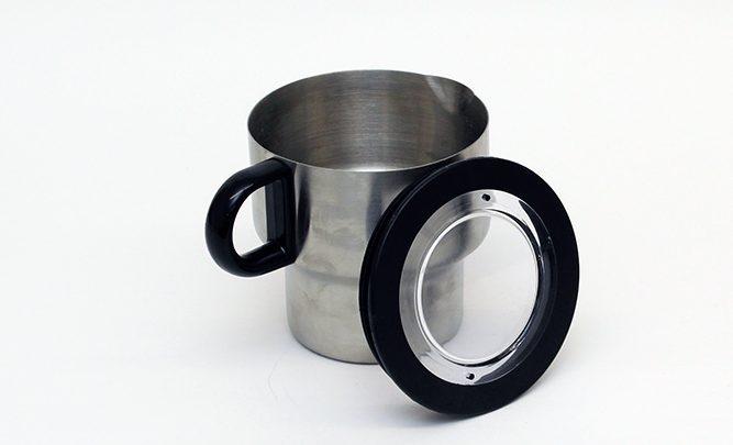 8877d2352c Test: Tchibo Induktions-Milchaufschäumer Metall-Design - testsieger ...